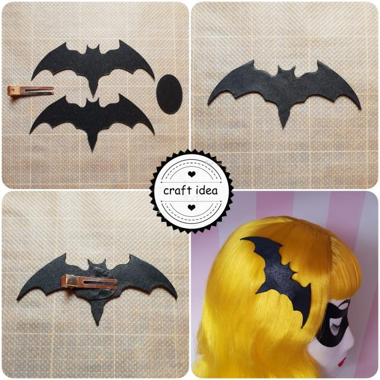 WBA Halloween Special Batman Hairclip Pictorial I V2