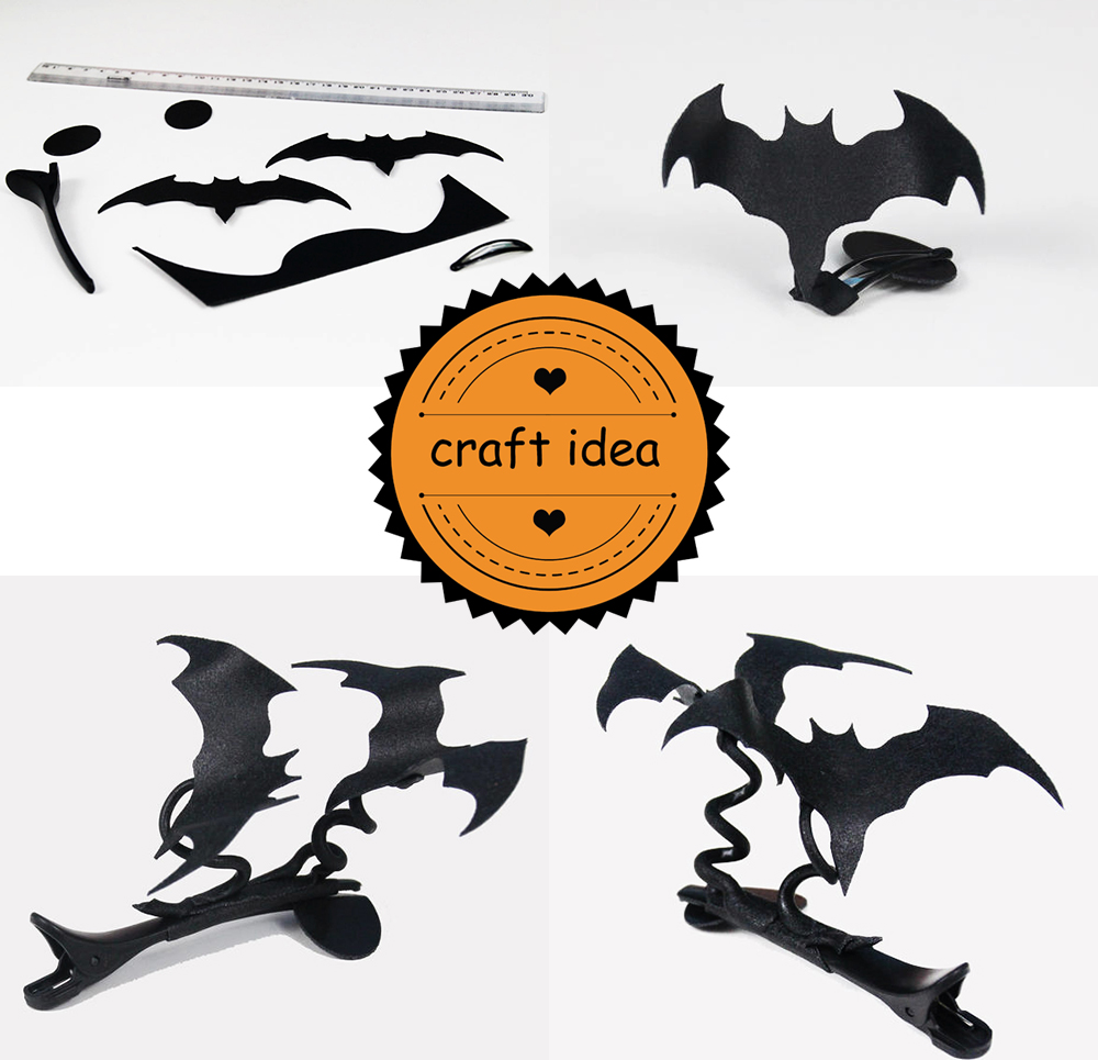 WBA Halloween Special Batman Hairclip Pictorial II V2