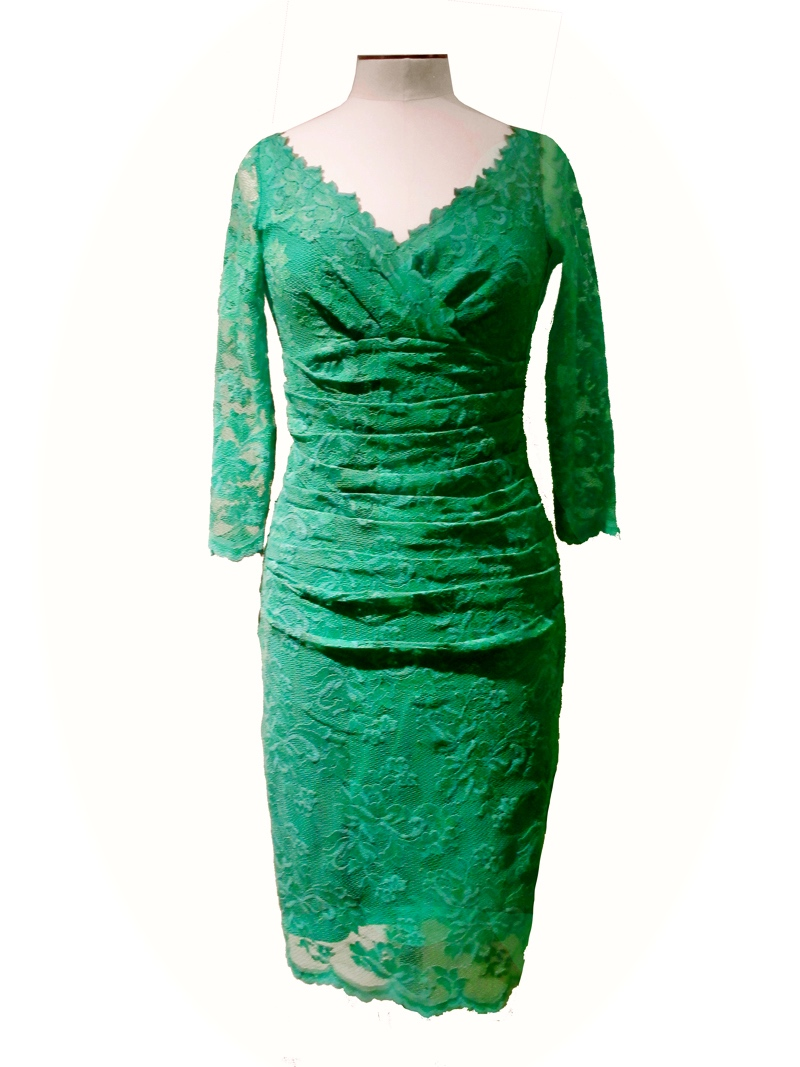 Olvis' Lace Dress Green
