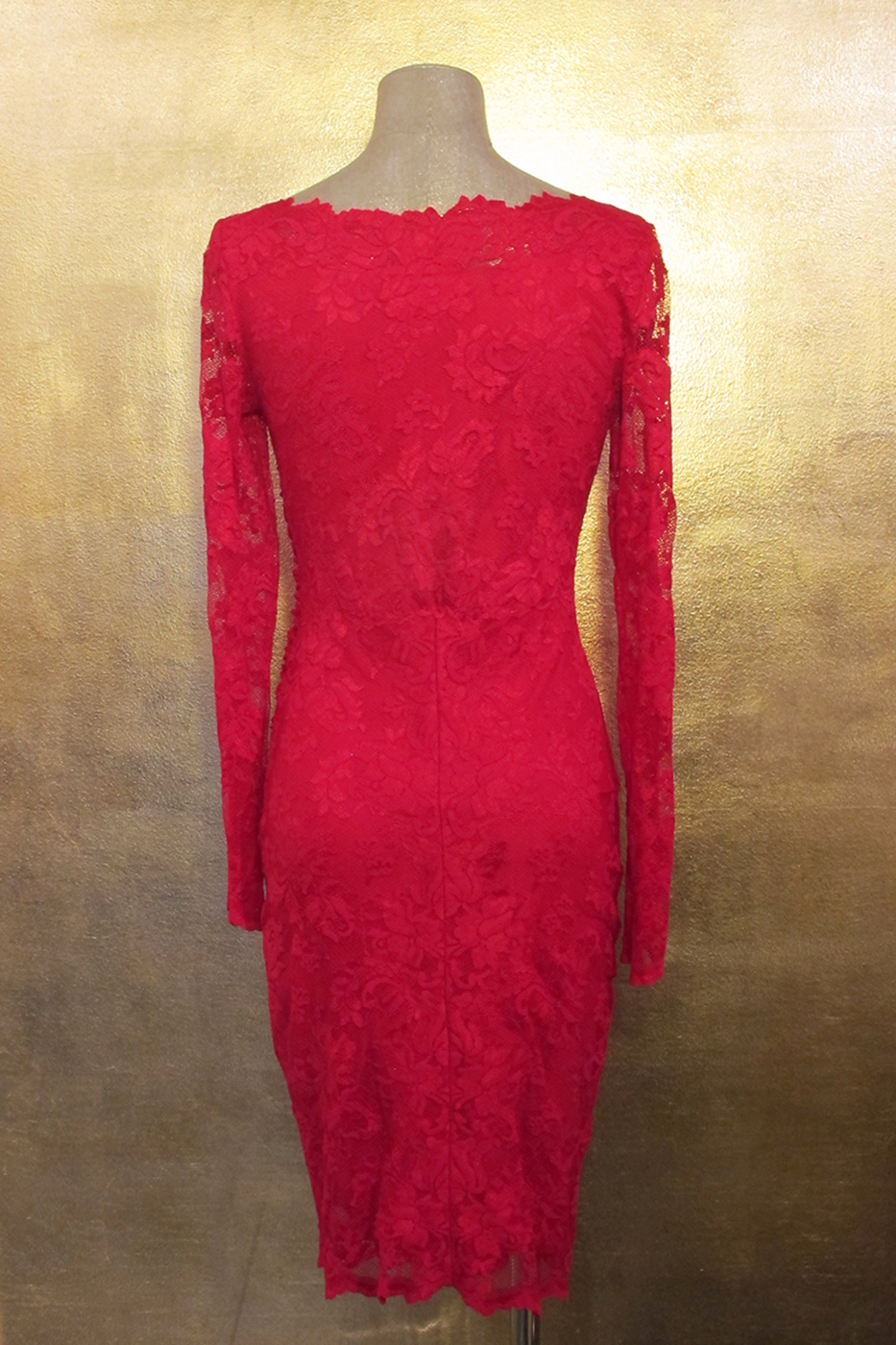 Olvis' Lace Dress | Red​ 1498