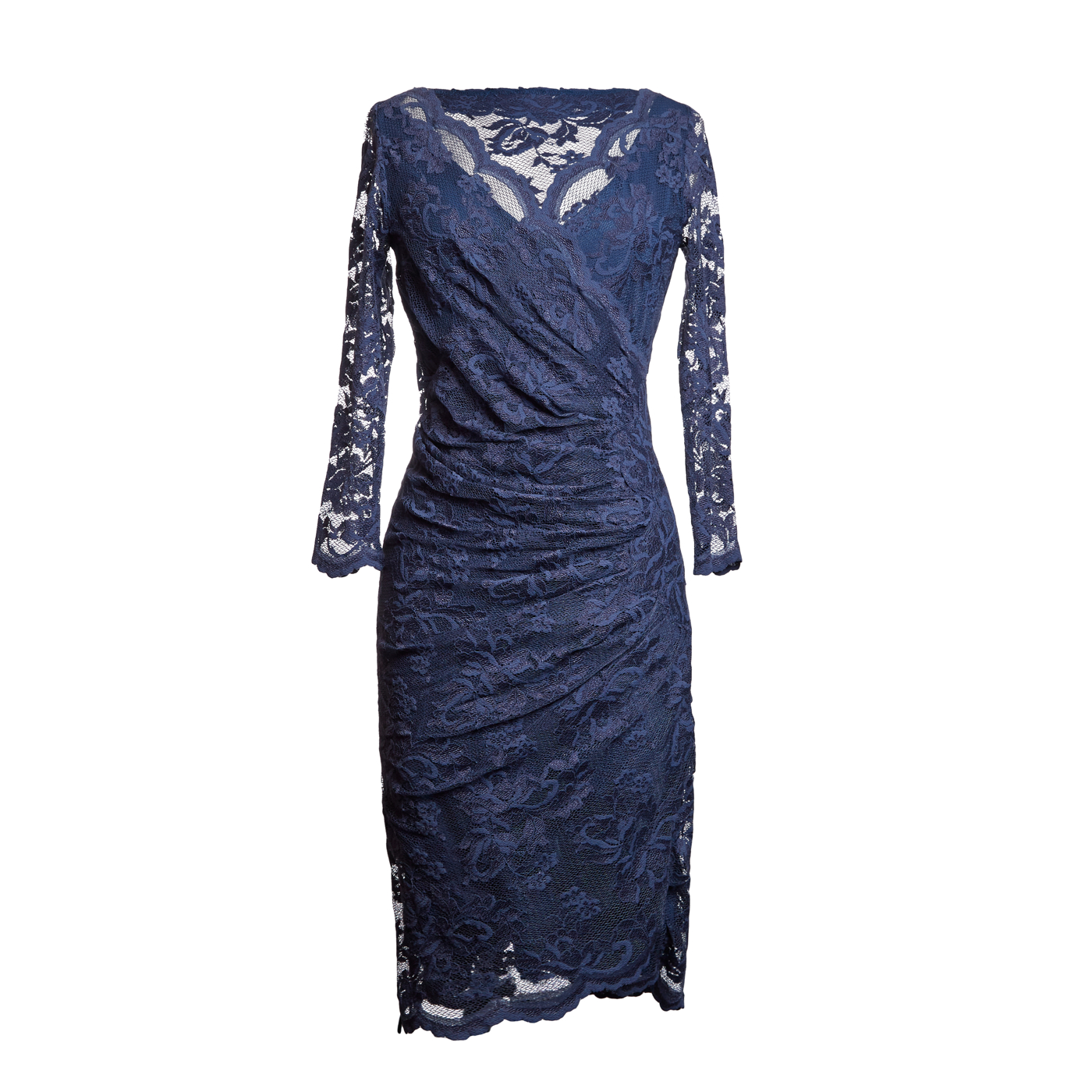 Olvis' Lace Dress_Navy_1