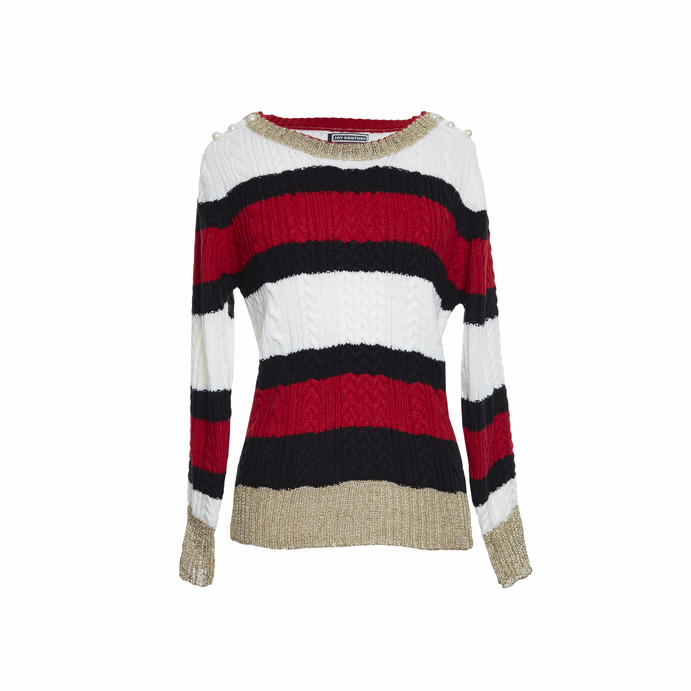 Mariniere Sweater With Pearls