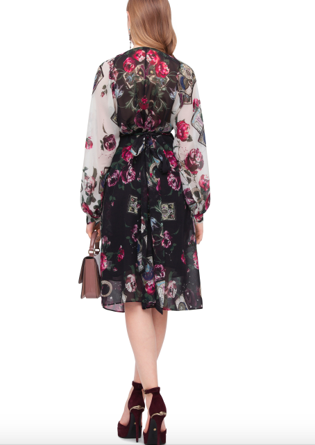 Roberto Cavalli Mystic Garden Shirt Dress