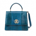 Roberto Cavalli handbag with strap medium_turquoise_1