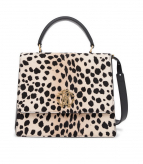 ROBERTO CAVALLI MEDIUM BAG PRINTED COWHIDE