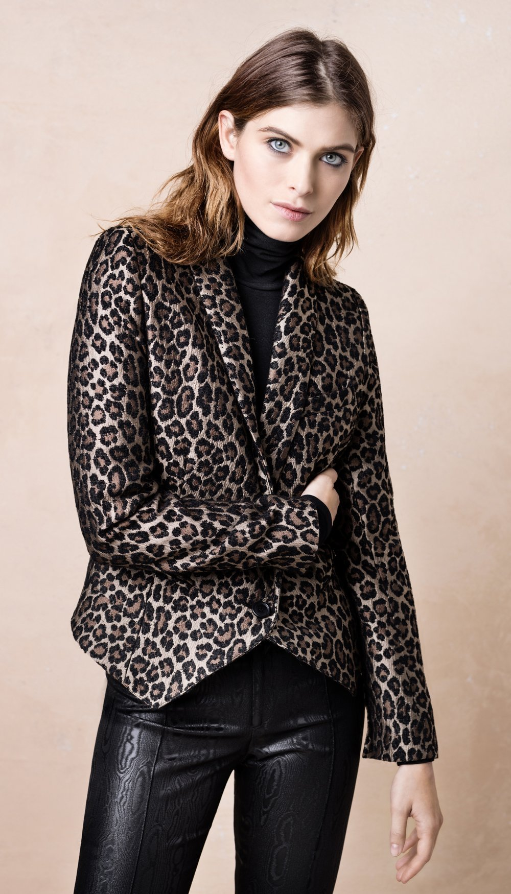 Smythe Les Vestes Anytime Blazer_leopard_1