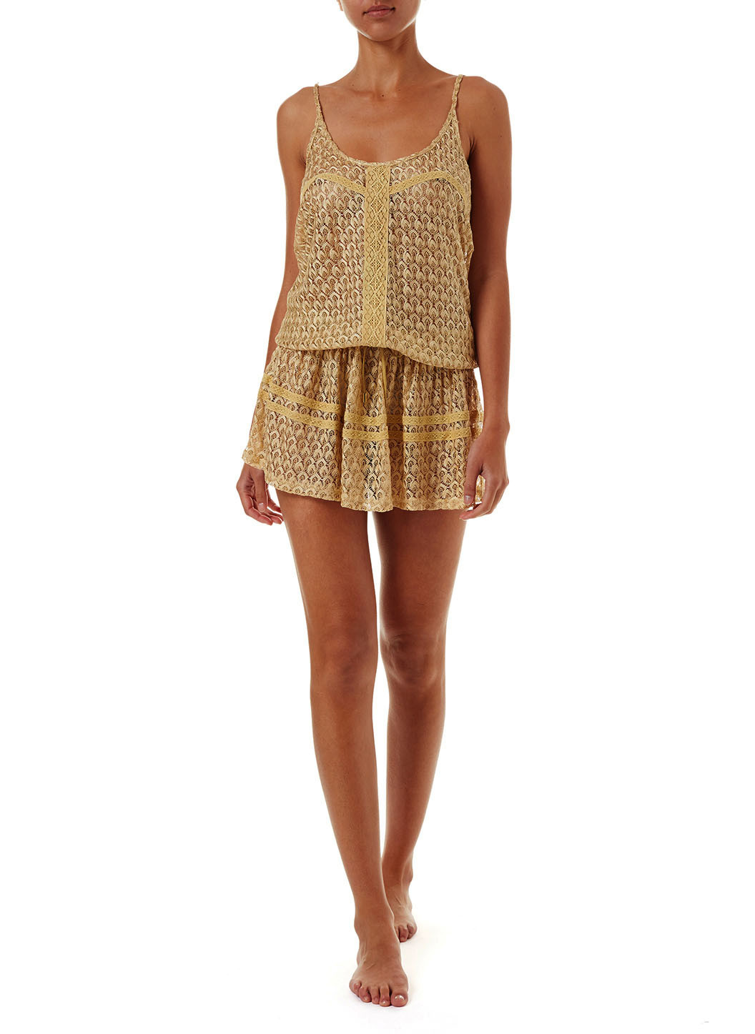 khloe-gold-crochet-overtheshoulder-short-beach-dress-2019-f