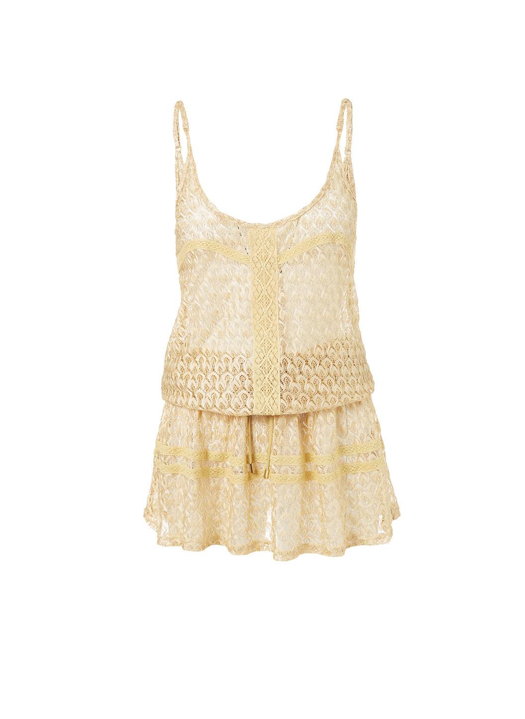 khloe-gold-crochet-overtheshoulder-short-beach-dress-2019