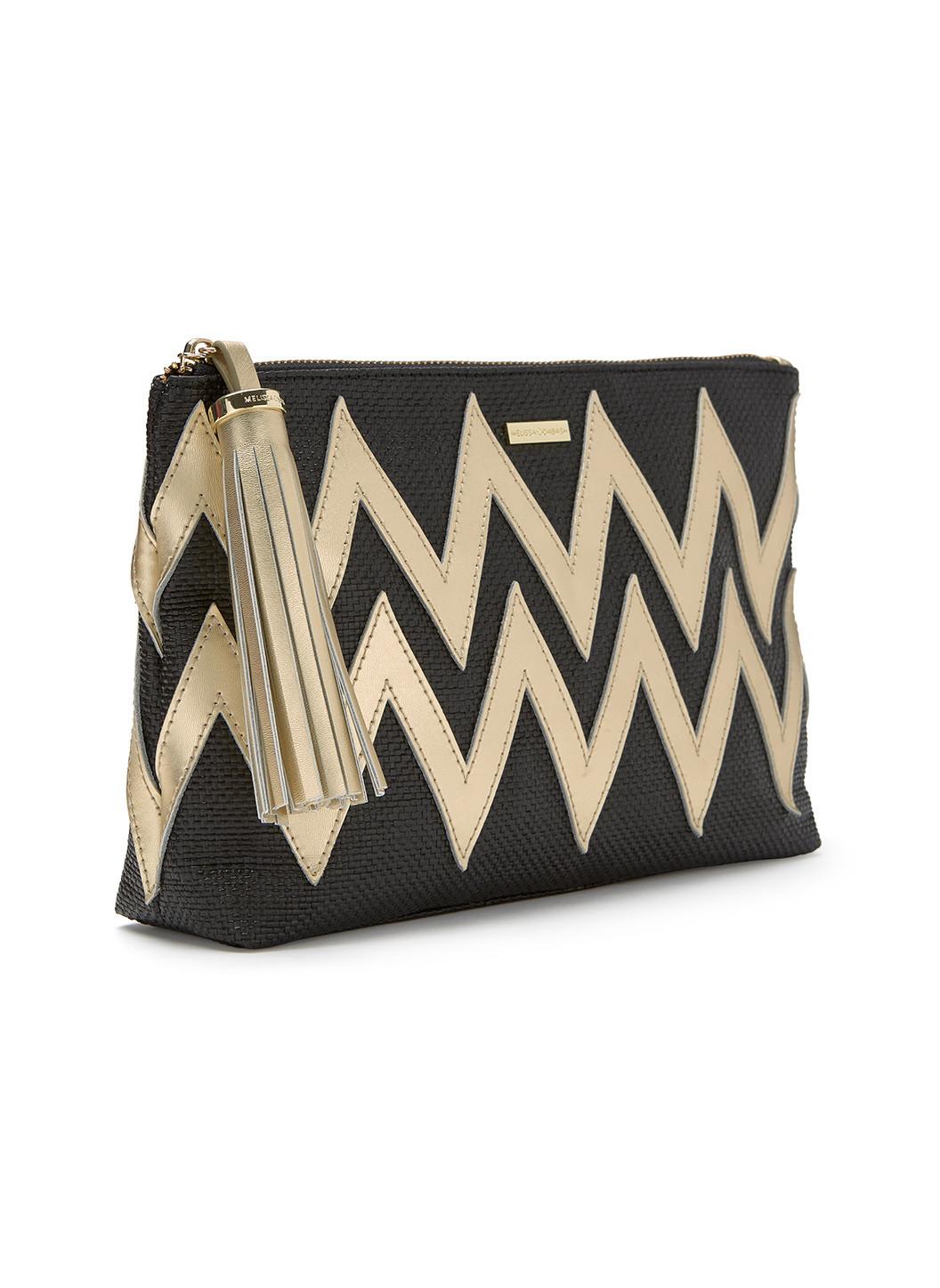 crete-zigzag-clutch-bag-black-gold-2019-2