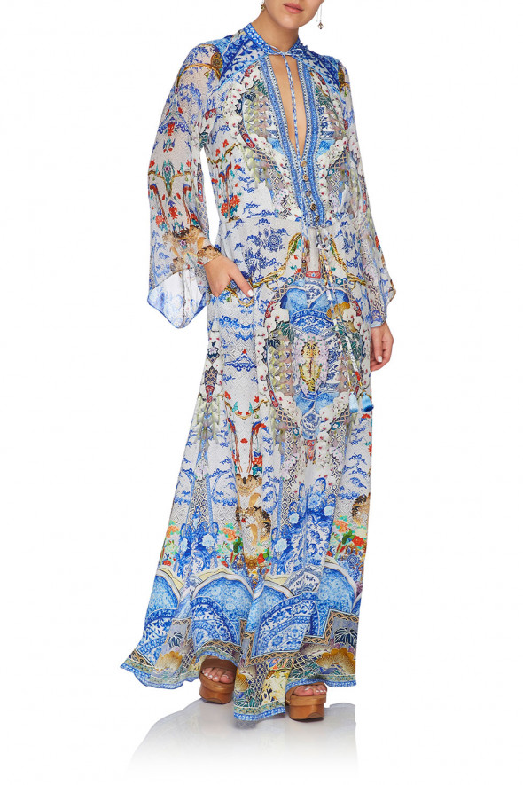 camilla_drawstring_button_up_dress_geisha_gateways_3
