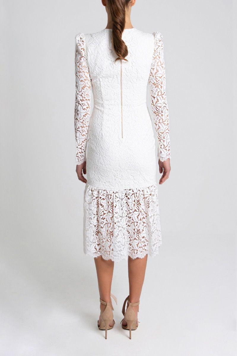 le-saint-ruched-dress-white-back2