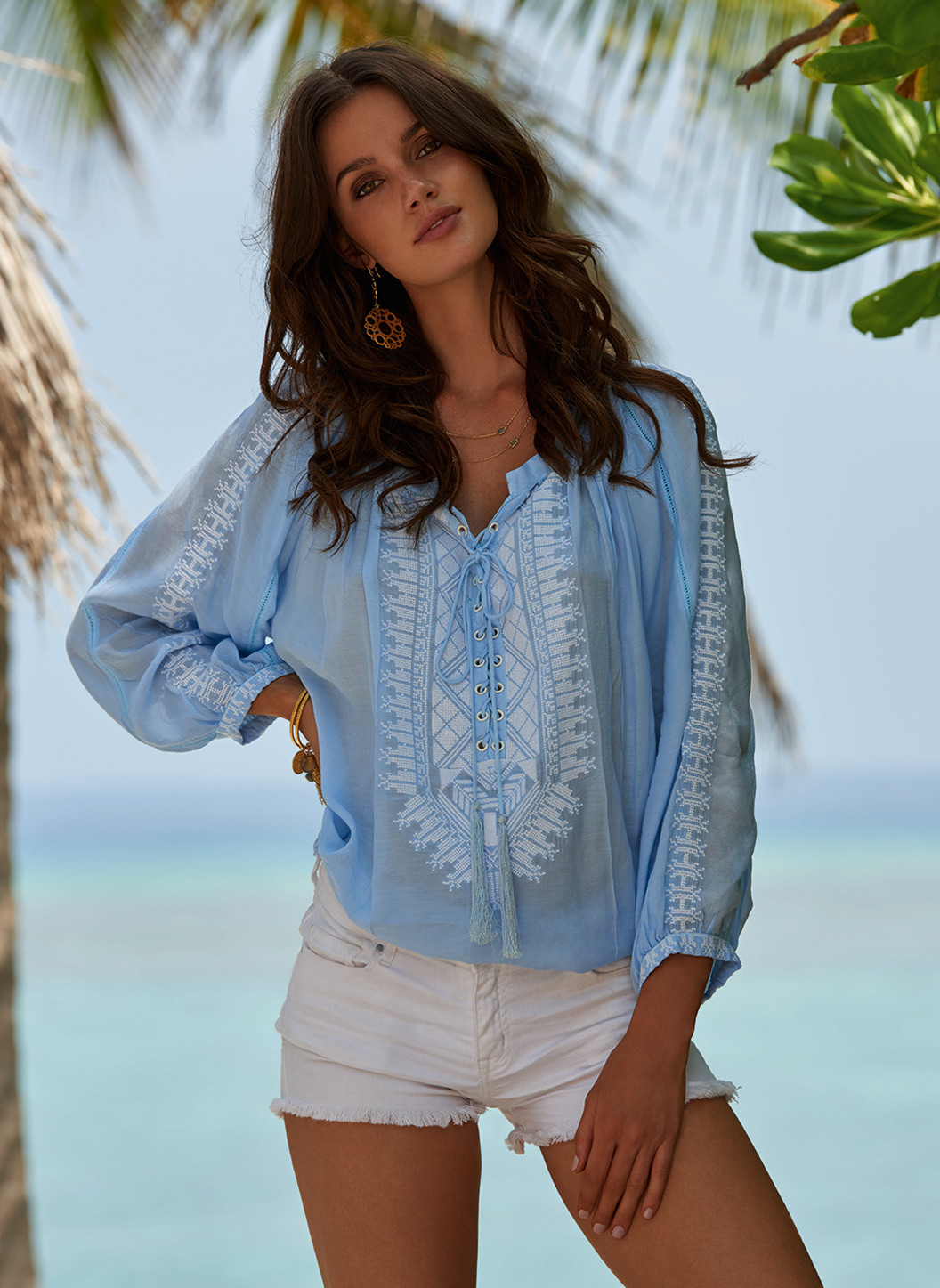 simona-blue-laceup-embroidered-blouse-lifestyle-2019