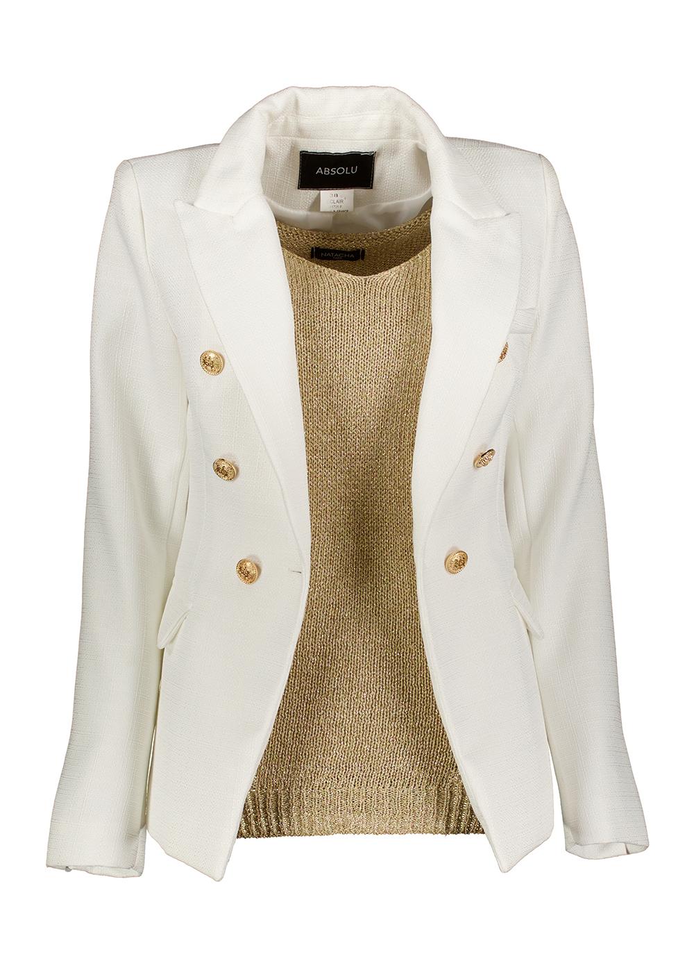 blazer gold_Front_Full