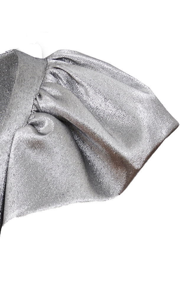 large_sara-battaglia-metallic-puffed-sleeve-lurex-pencil-dress-1