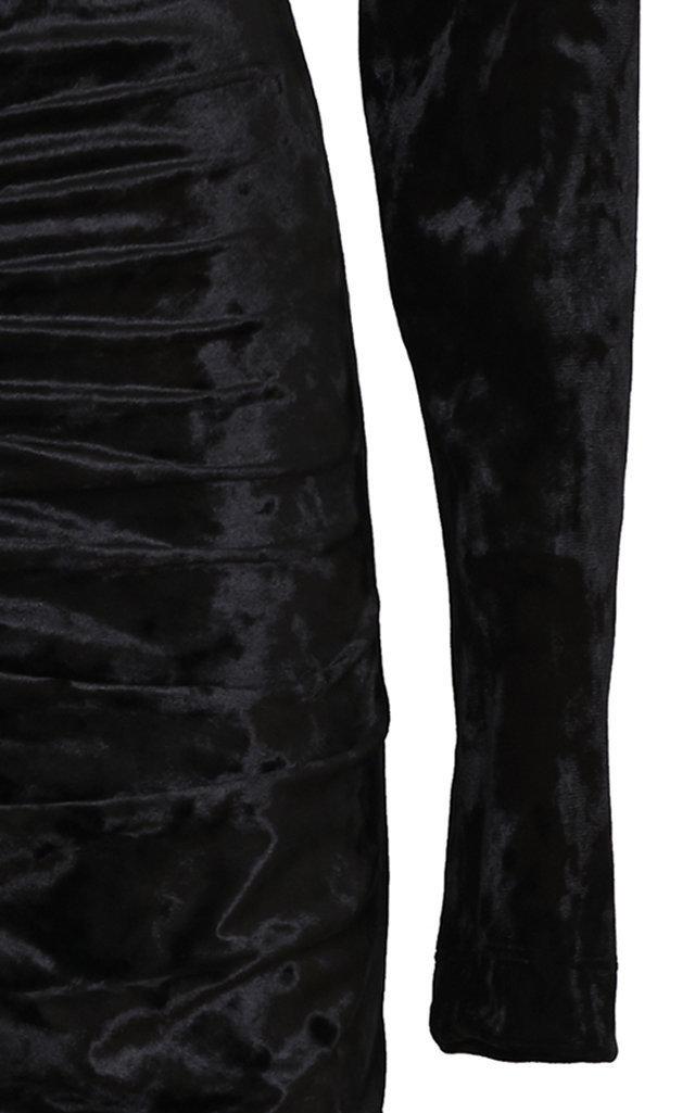 large_sara-battaglia-black-ruched-front-midi-dress-1