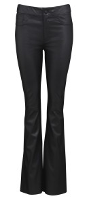 FRONTROW BOOTCUT STRETCH LEATHER PANTS