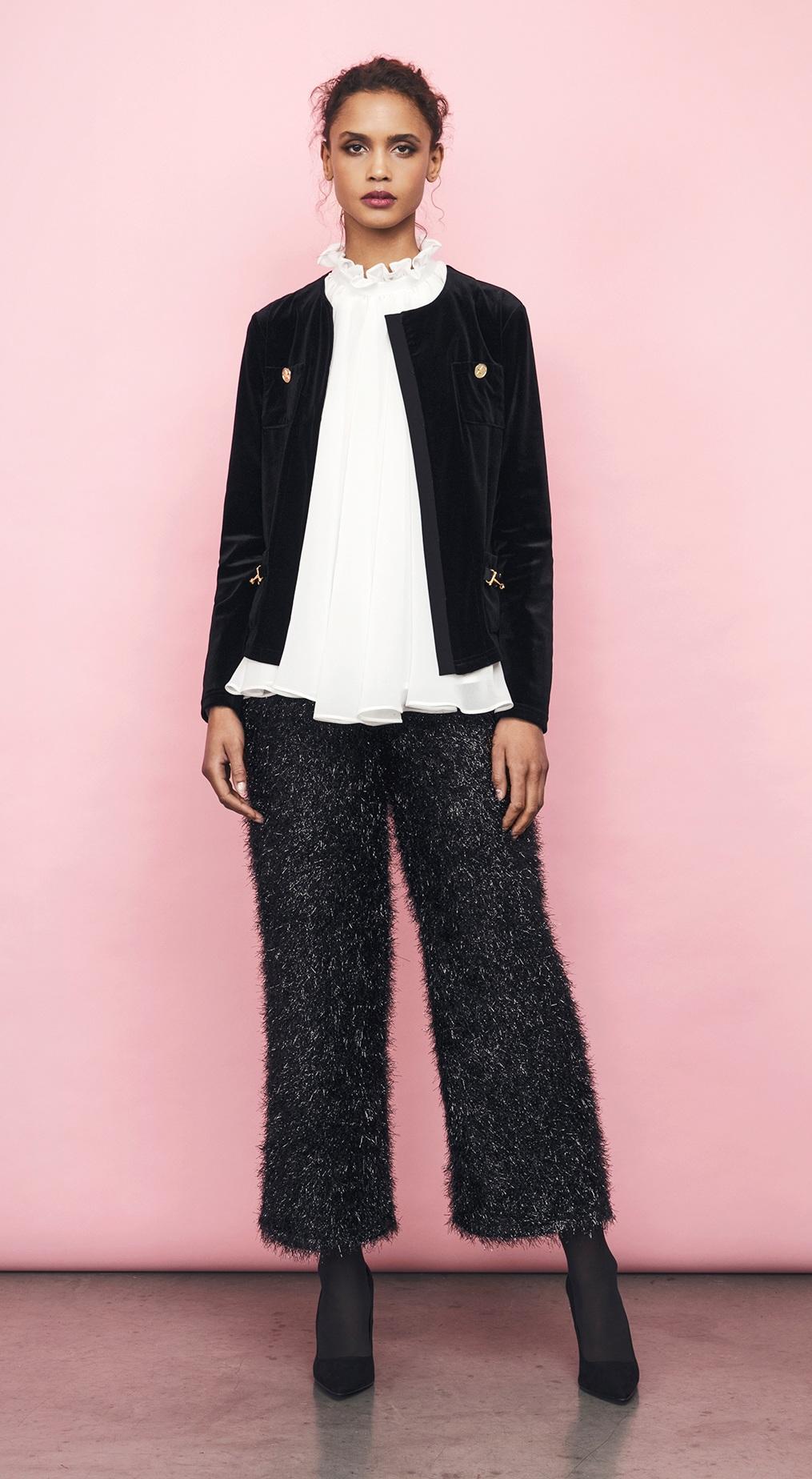 emmy jacket phoebe blouse paulina trousers