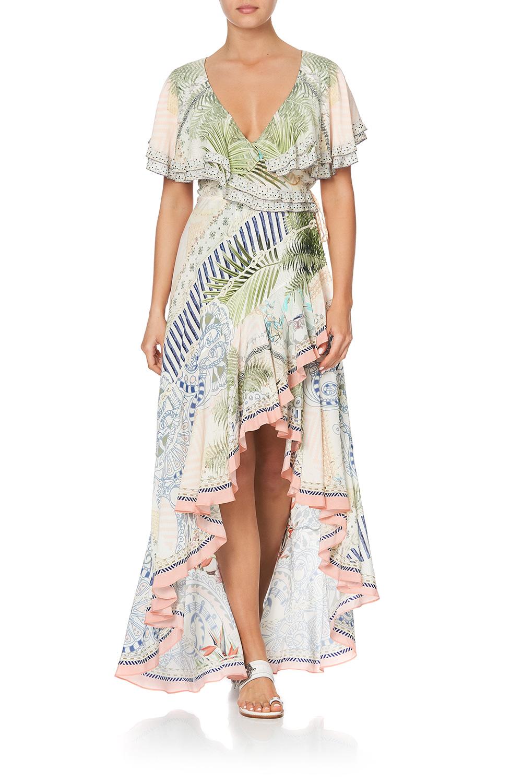 camilla_frill_sleeve_long_dress_beach_shack_1