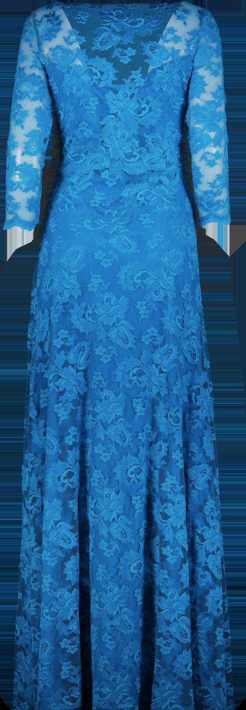 blue wear handskar