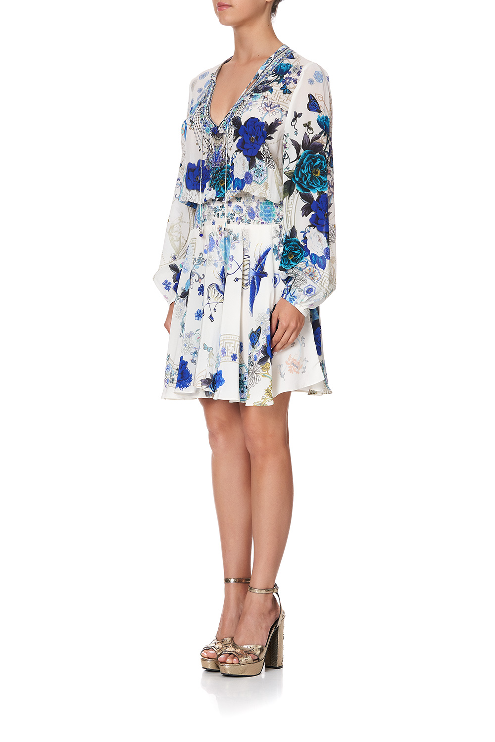 camilla_shirred_relaxed_short_dress_white_side_of_the_moon_5