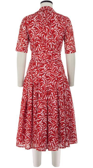 Morris_Leaves_White_Red_Zeller_Dress_Shirt_Collar_1-2_Sleeve_Midi_Musola_Back-1_680x680