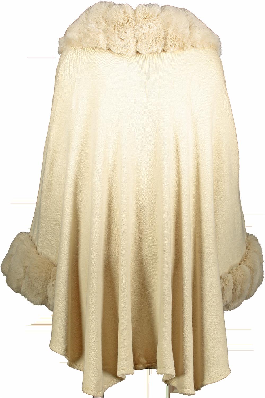 beige cape _Front+2
