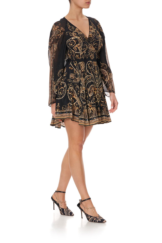 camilla_short_dress_with_draped_sleeve_studio_54_2