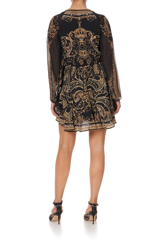 camilla_short_dress_with_draped_sleeve_studio_54_3