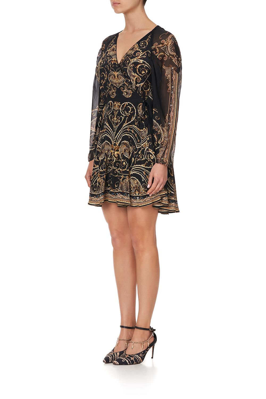 camilla_short_dress_with_draped_sleeve_studio_54_5