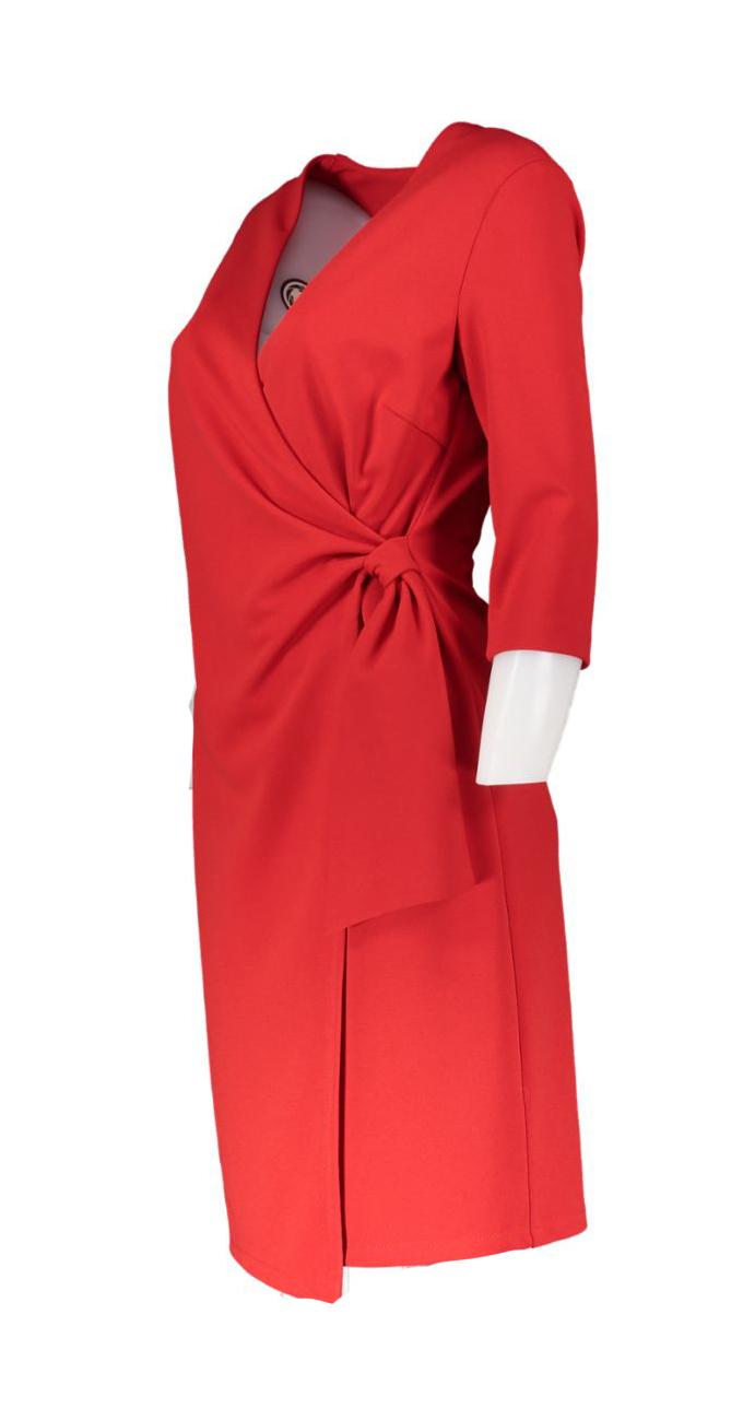 drape dress red_Front_M1500x15000JPG