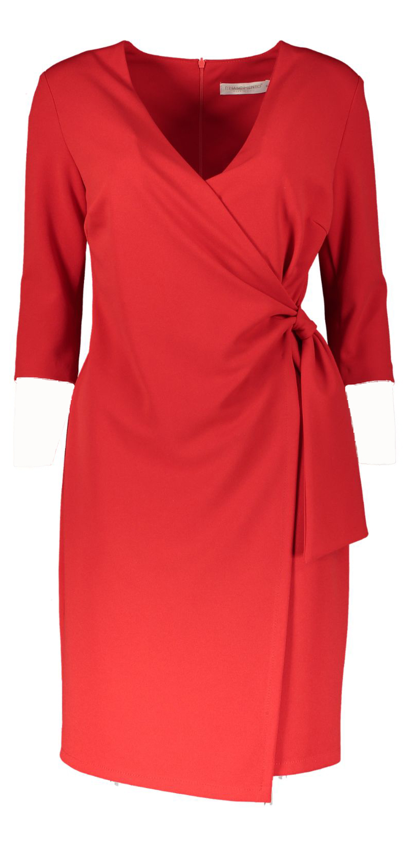 wrap dress red _Front_M1500x15000JPG