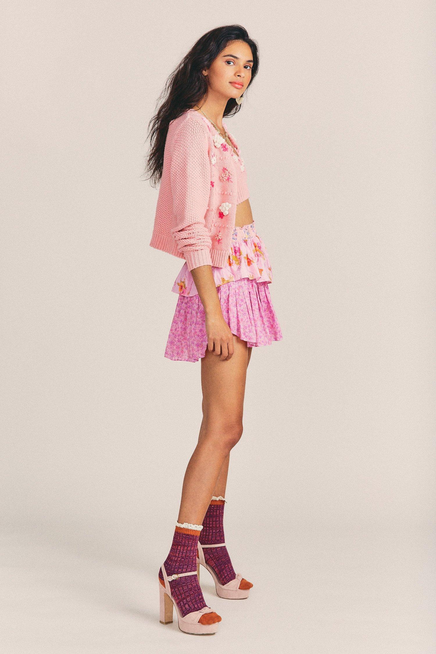 Ruffle-Mini-Skirt-Exploded-Pink-3