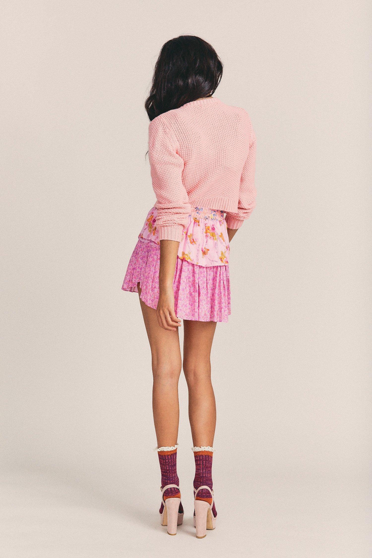 Ruffle-Mini-Skirt-Exploded-Pink-4