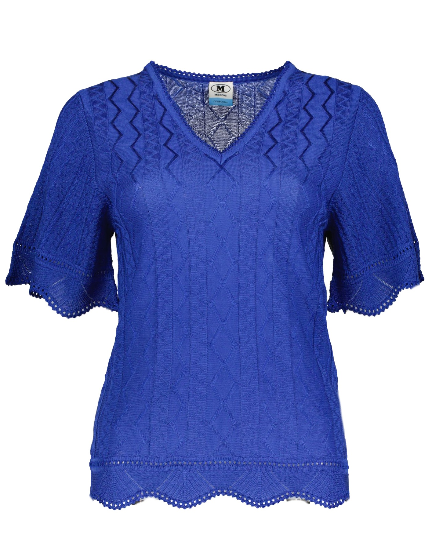 long knitted top blue _Front_M1500x15000JPG