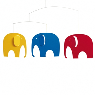 Flensted Mobiles Elephant Party