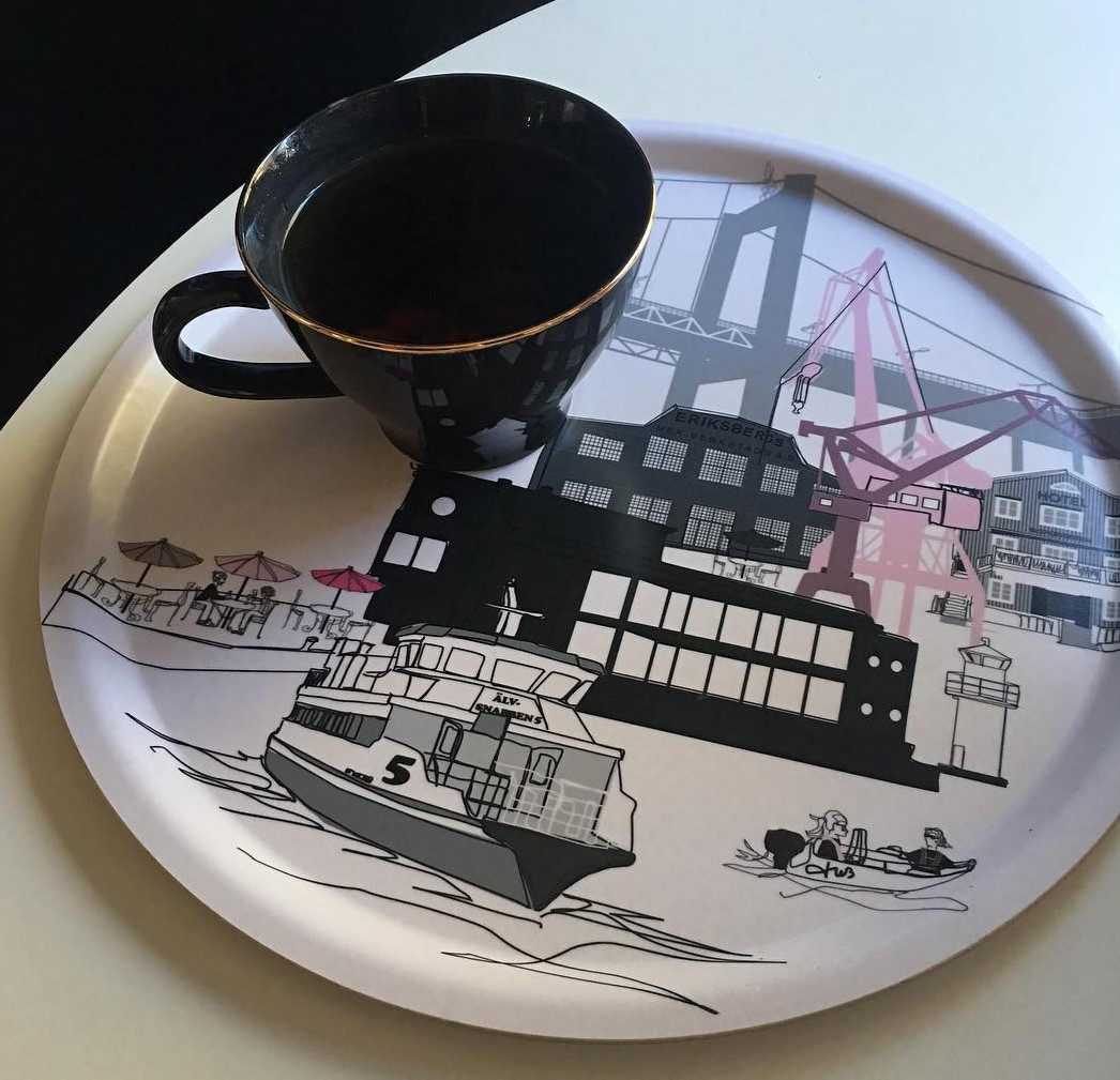 Göteborg-bricka