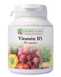 Vitamin B5 400 mg 90 veg kapslar och inget annat... - B5