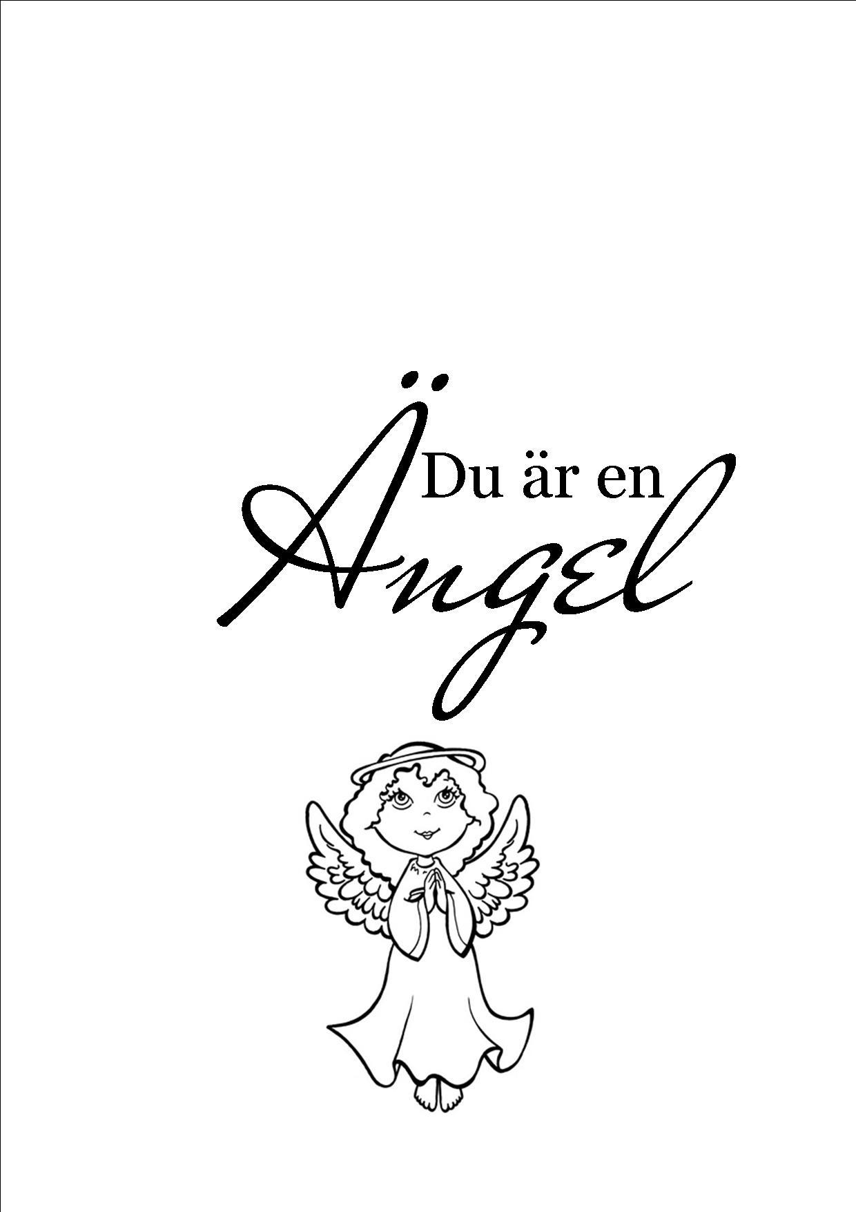 Du är en ängel