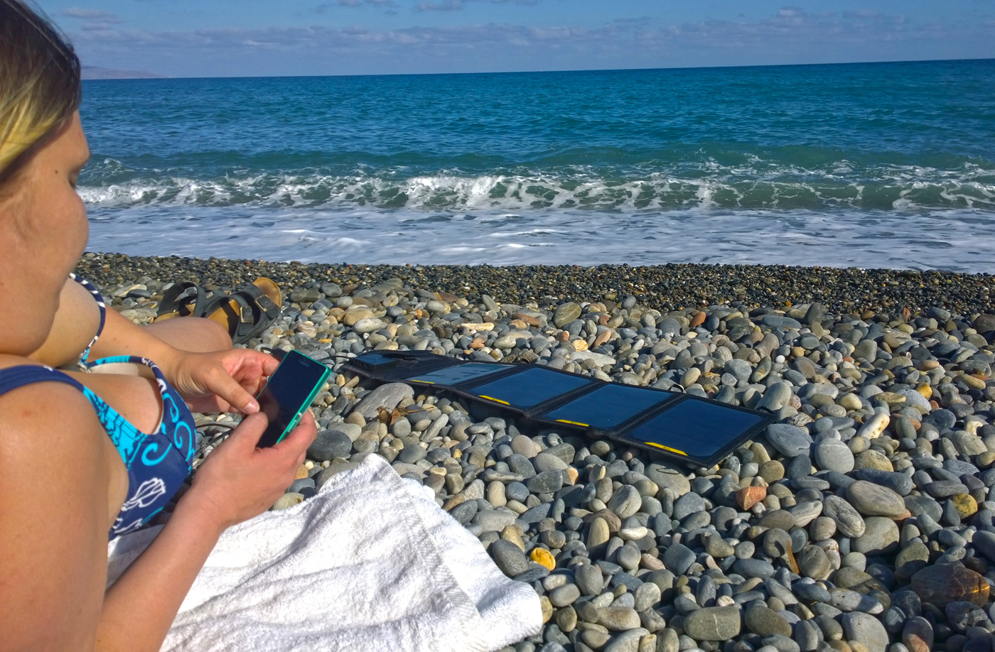 Ska du resa? Perfekt på stranden!