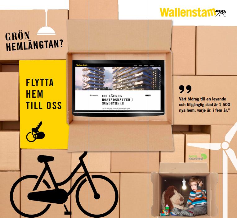 Fastighetsreklam. Copywriting av Ristretto Stockholm.