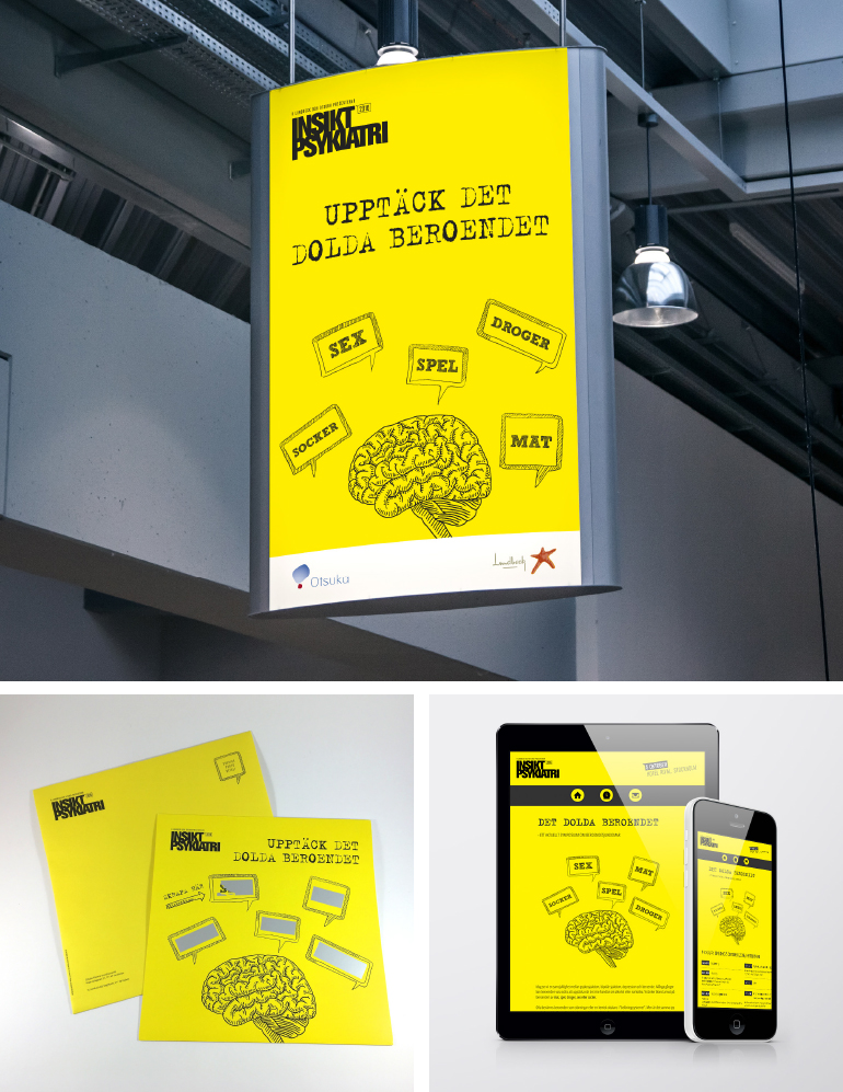 Reklam för läkarkonferens på Rival i Stockholm. Idé och copywriting av Benny Karlsson Lilja,  Ristretto Stockholm.
