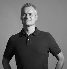 På bilden: Benny Karlsson Lilja, senior copywriter och strateg på kommunikationsbyrån Ristretto Stockholm