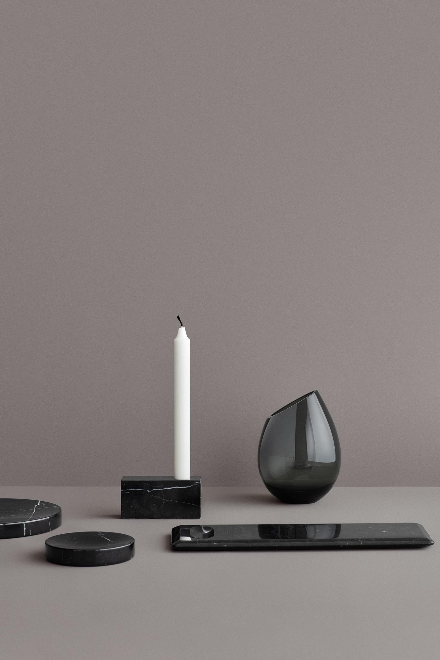 Svarta marmorbricka