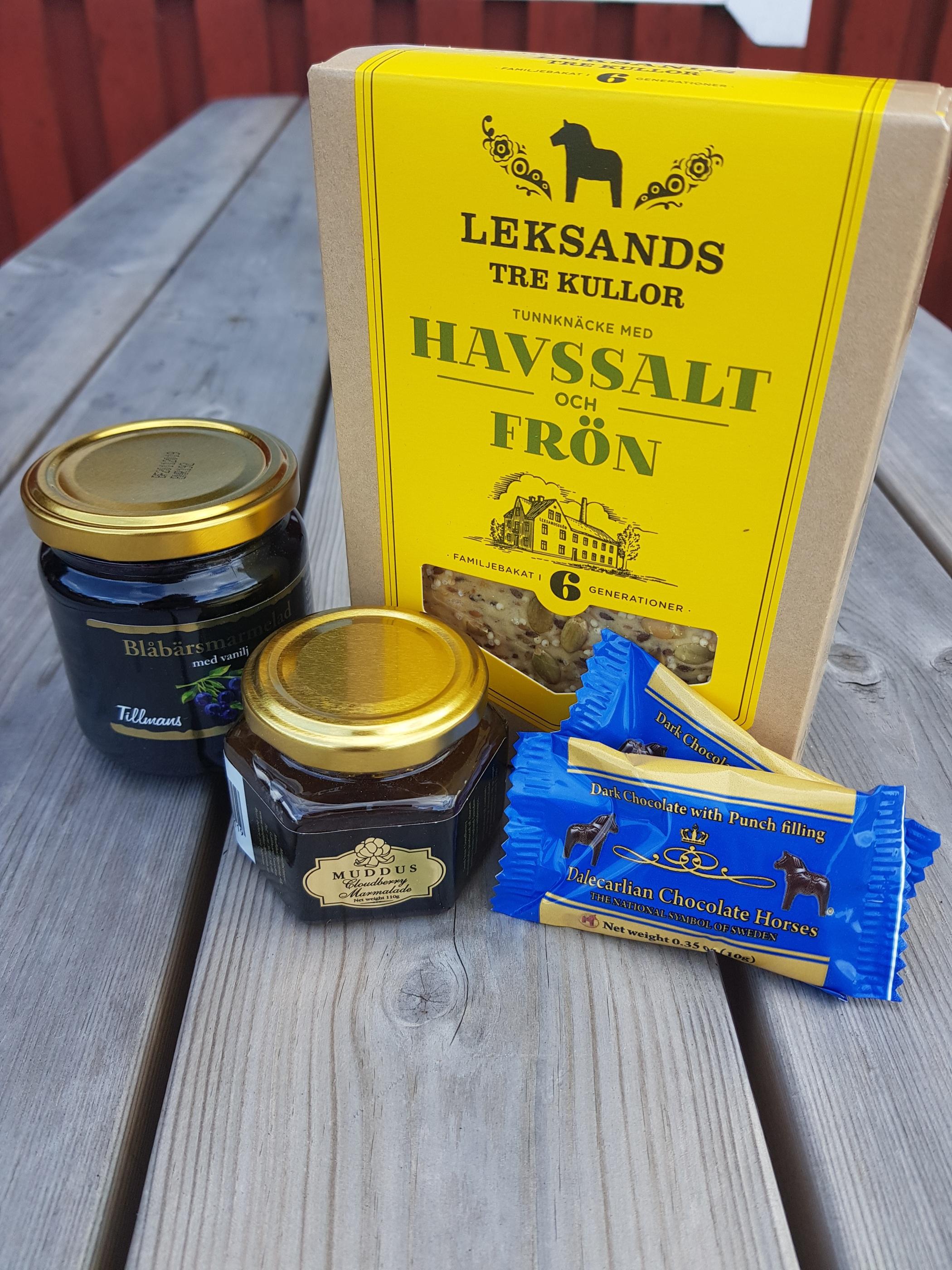Sverigegåvan lilla produkter