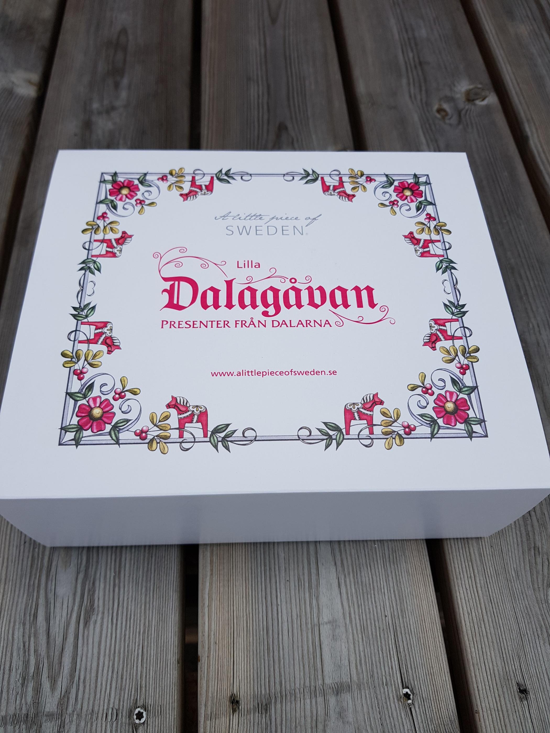 Låda Dalagåvan lilla