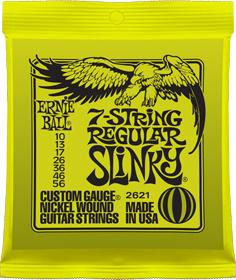 Ernie Ball 2621 Regular Slinky 10-56 7-strängat