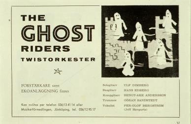 Ur Musikerförmedlingens katalog 1964.