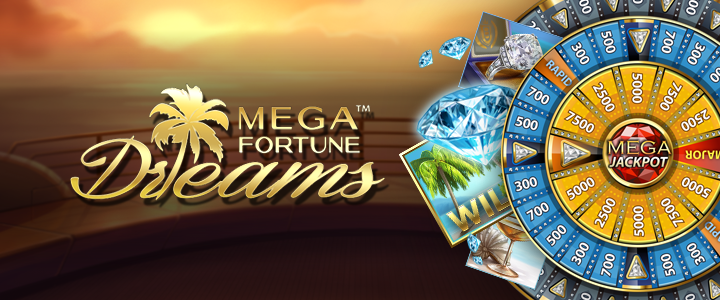 mega fortune dreams hos nya casino
