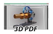 Simlab Composer PDF Export - 3DS Max 3D PDF export