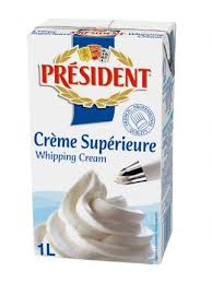 Whipping cream president - Whiping cream